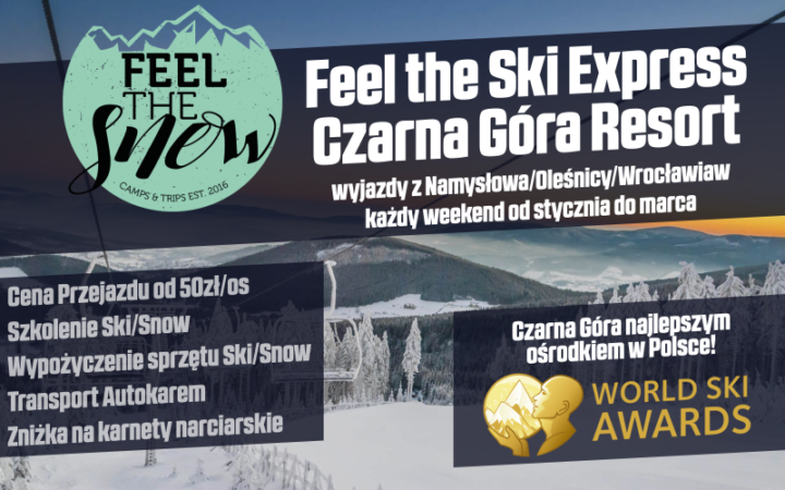 Feel The Ski Express Czarna Góra Resort