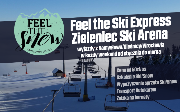 Feel The Ski Express Zieleniec Ski Arena